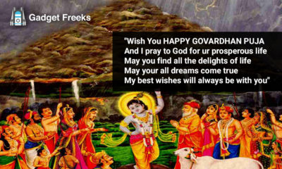 Govardhan Puja Wishes