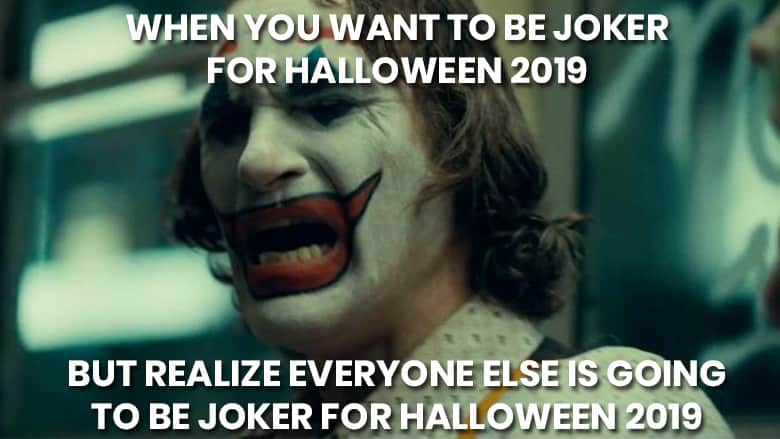 Halloween 2019 Memes