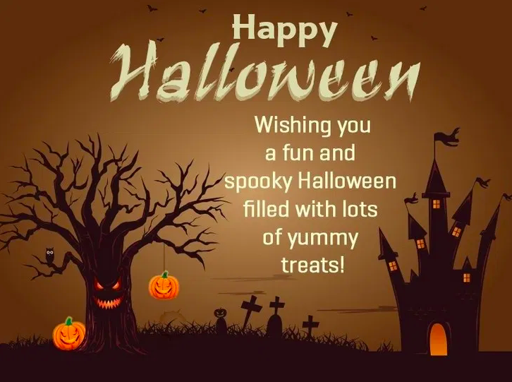 Halloween Wishes for Friends & Family