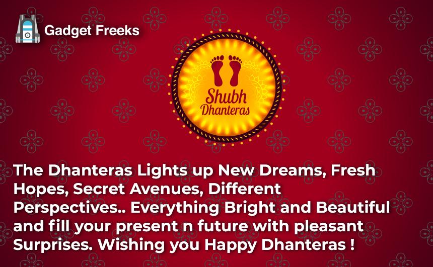 Happy Dhanteras 2019 Quotes