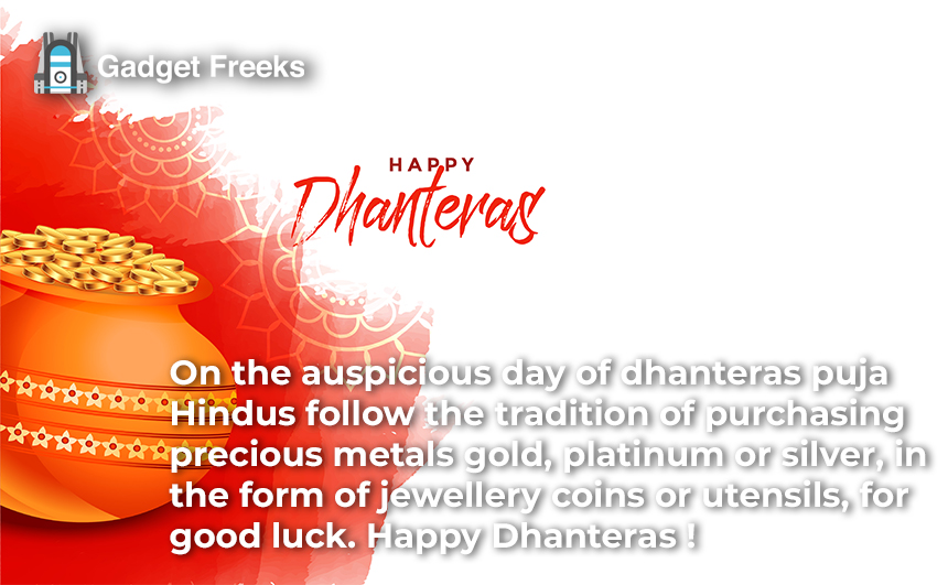 Happy Dhanteras Greeting Cards