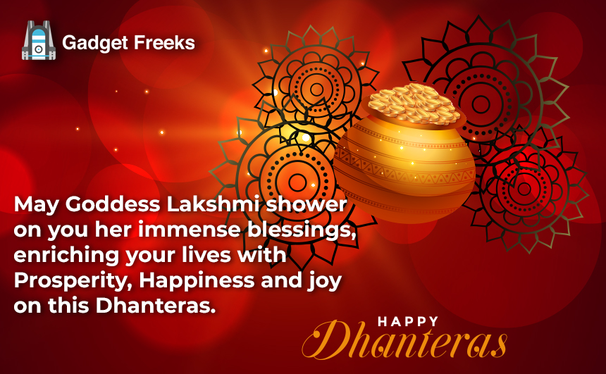 Happy Dhanteras Messages 2019