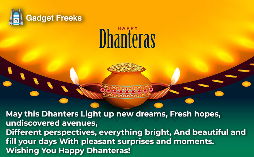 Happy Dhanteras Poems