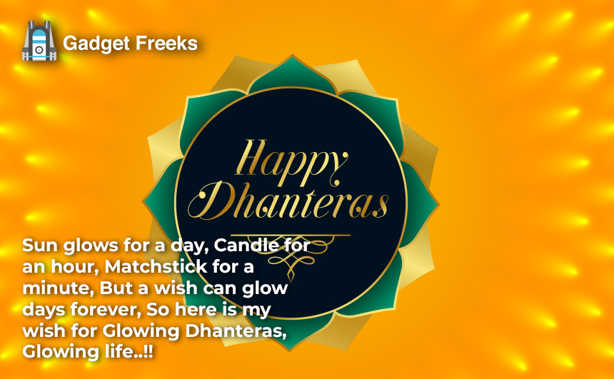 Happy Dhanteras Status