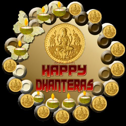 Happy Dhanteras Stickers