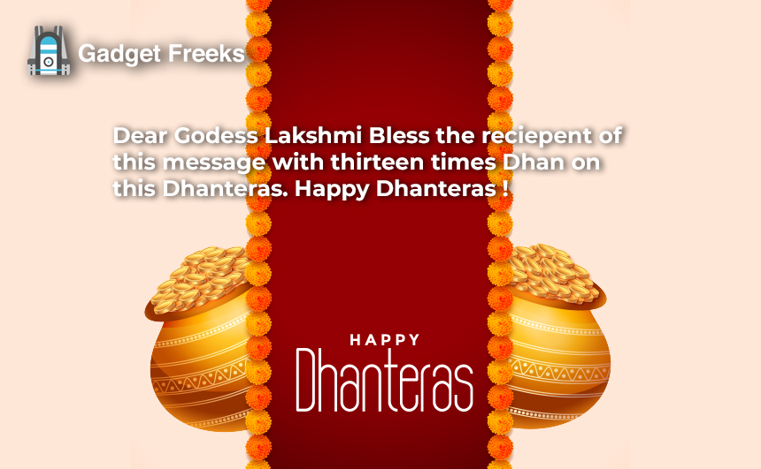 Happy Dhanteras Thoughts