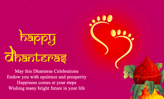 Happy Dhanteras Wishes for Wife & Husband