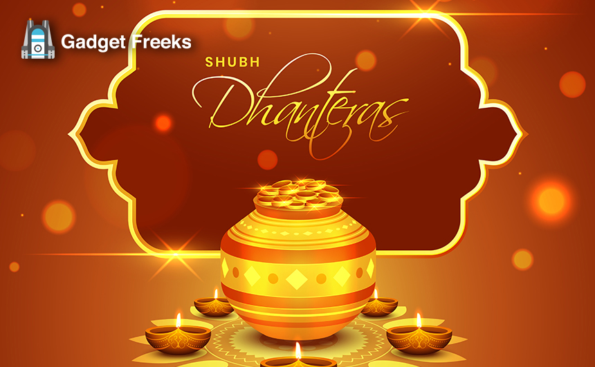 Happy Dhanteras in india