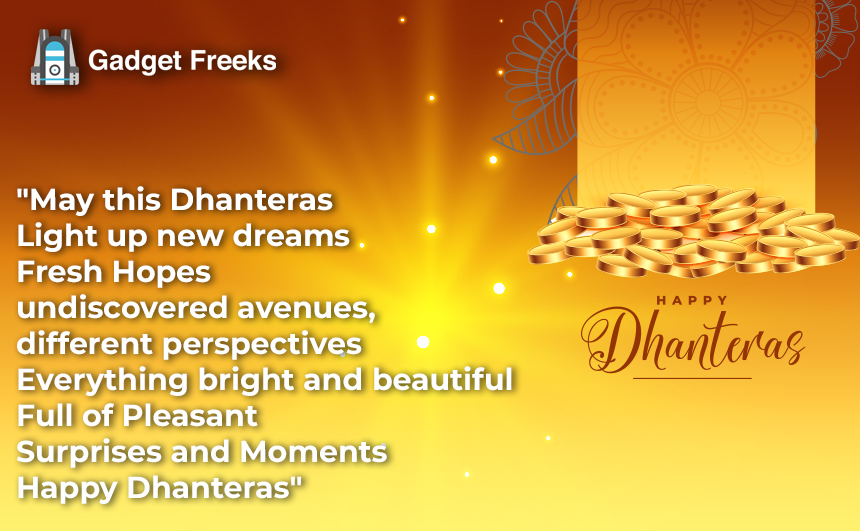 Happy Dhantrayodashi Messages