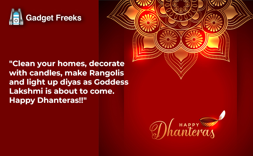 Happy Dhantrayodashi Wishes