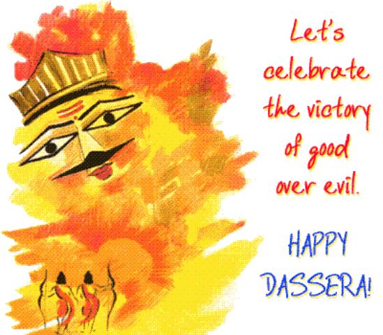 Happy Dussehra Whatsapp Sticker