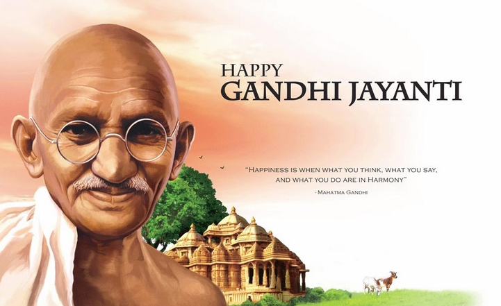 Happy Gandhi Jayanti Wishes