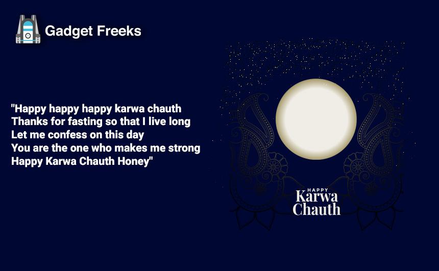 Happy Karwa Chauth Status