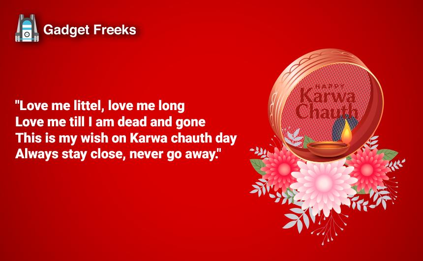 Karwa Chauth Wishes for Wife & Husband