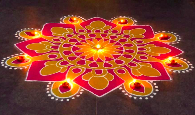 Latest Diwali 2019 Rangoli Images