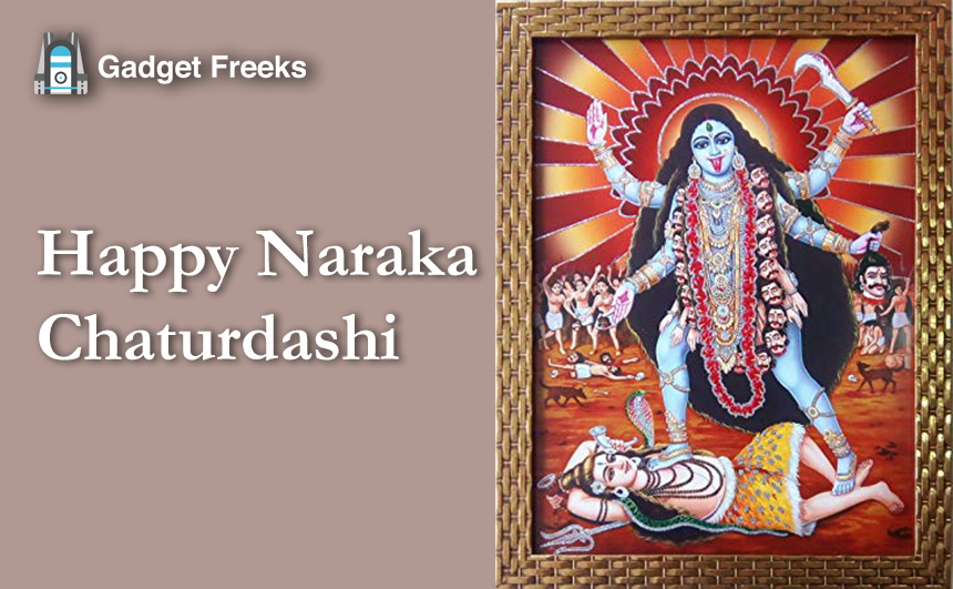 Narak Chaturdashi Images for Whatsapp