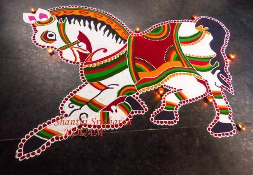 Rangoli Designs Ideas for Deepavali