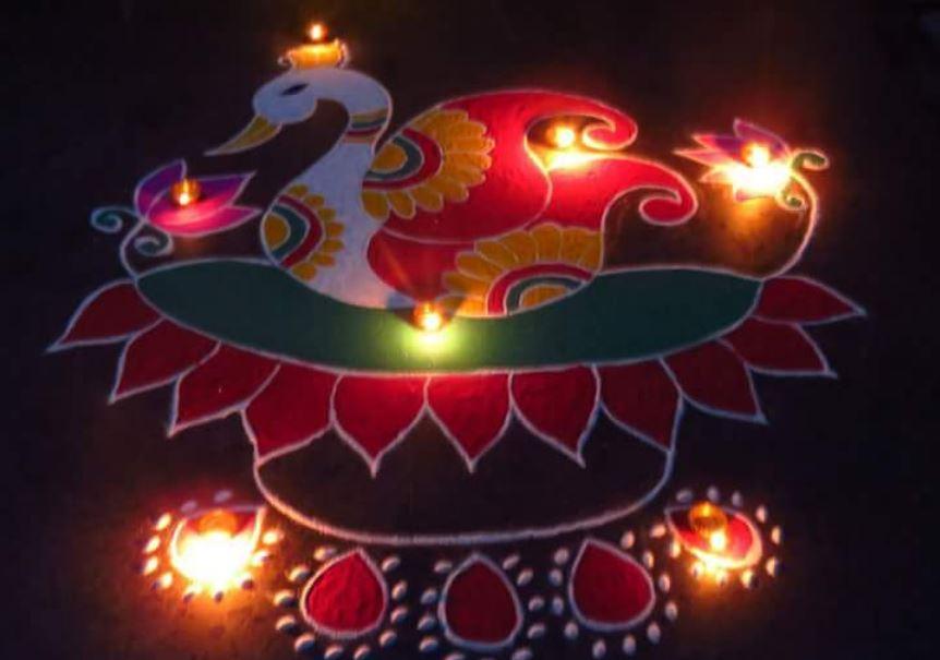 Rangoli Images for Diwali