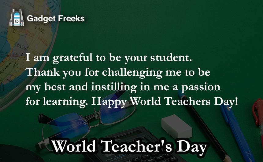 World Teacher's Day 2019 Wishes