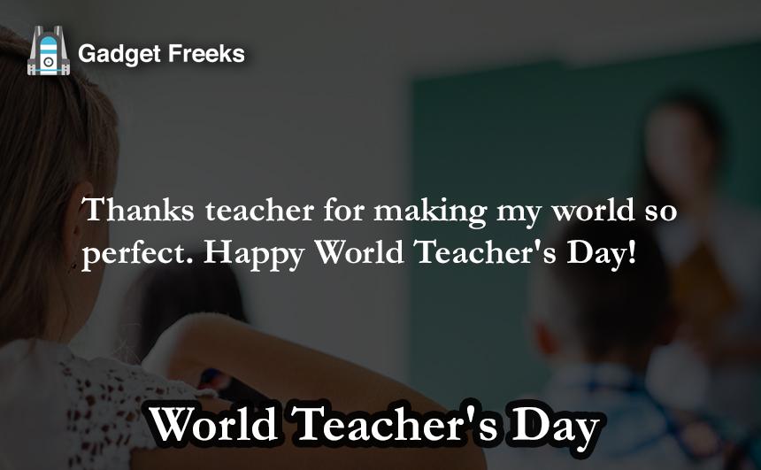 World Teachers Day Messages