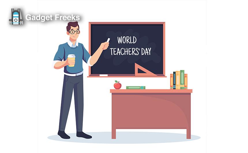 World Teacher's Day Pics