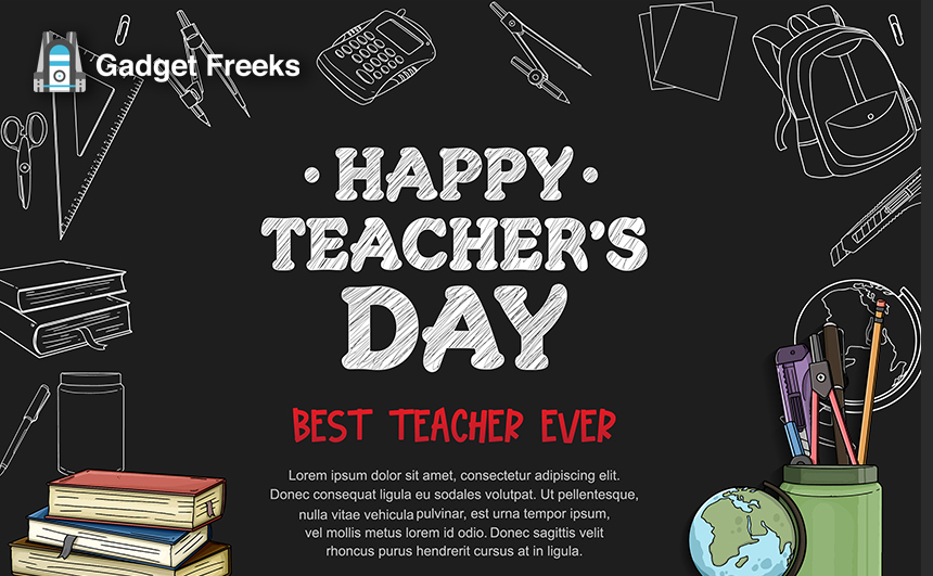 World Teacher's Day Pictures