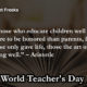 World Teacher's Day Quotes