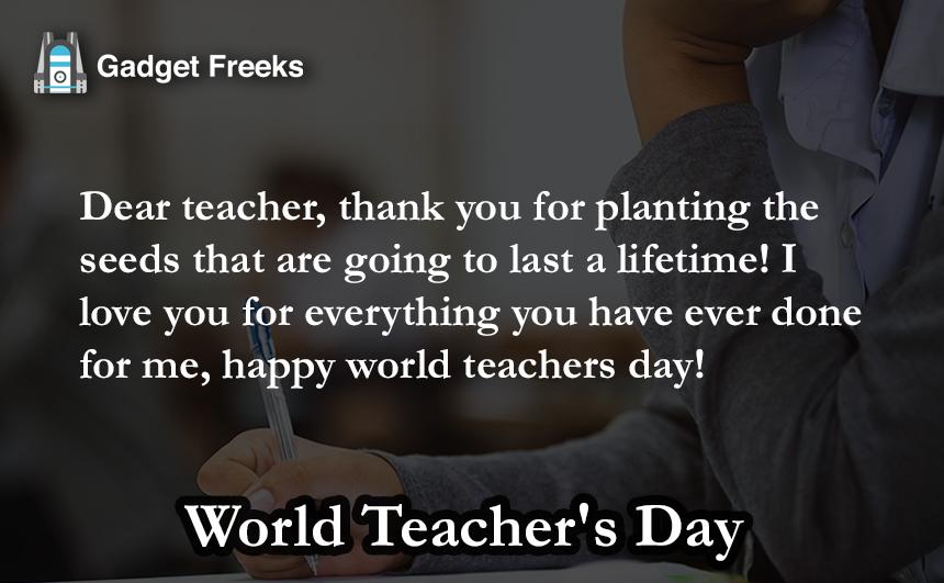 teachers day gift for dance teacher