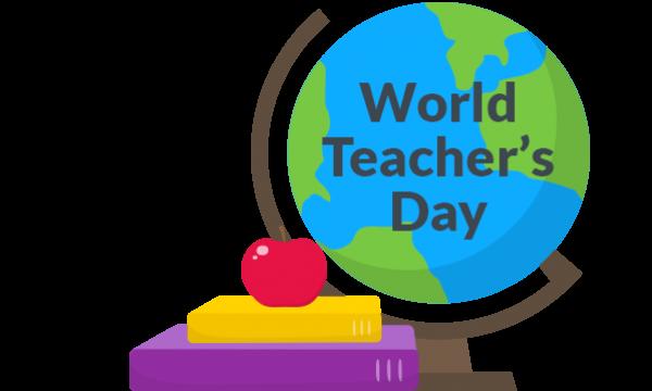 World Teacher's Day stickers