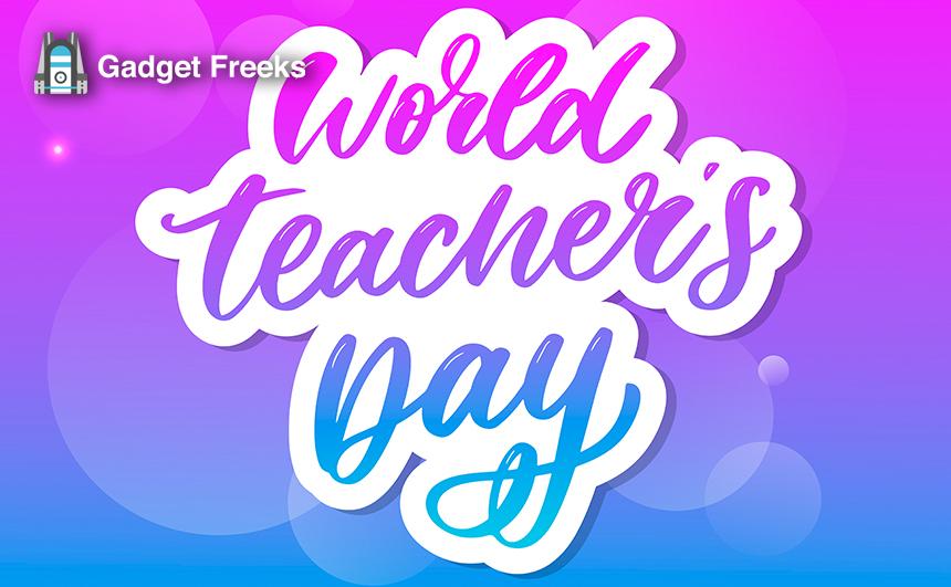 World Teacher's Day Photos