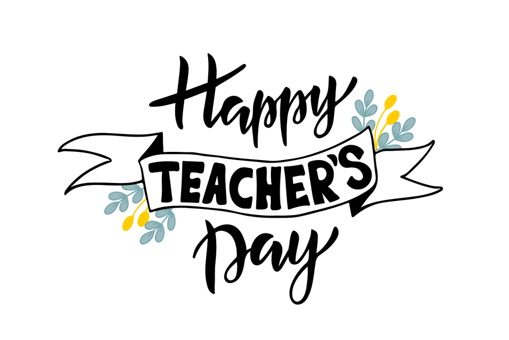 World Teachers Day stickers for Whatsapp
