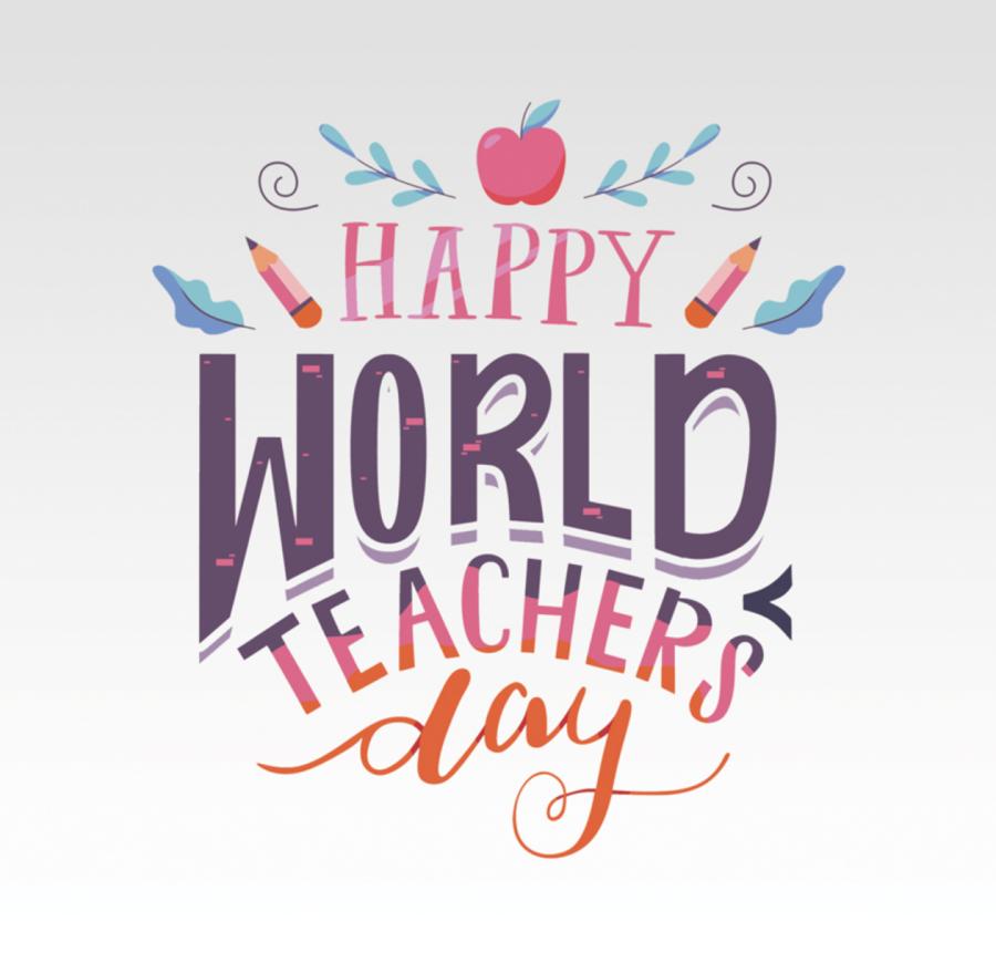 World Teachers Day stickers