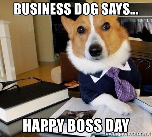 happy boss's day funny memes