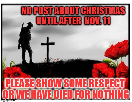 Remembrance Day Memes 2019