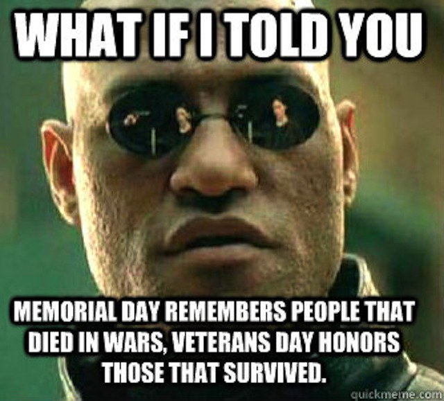 Veteran Day Memes for Facebook