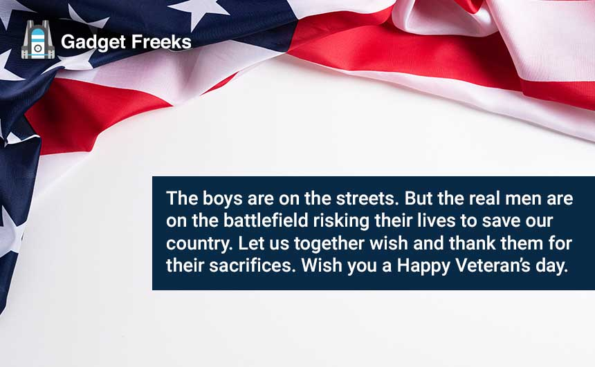 Veterans Day 2019 Messages