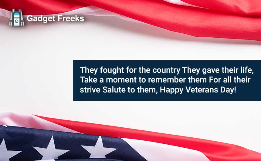 Veterans Day 2019 Wishes