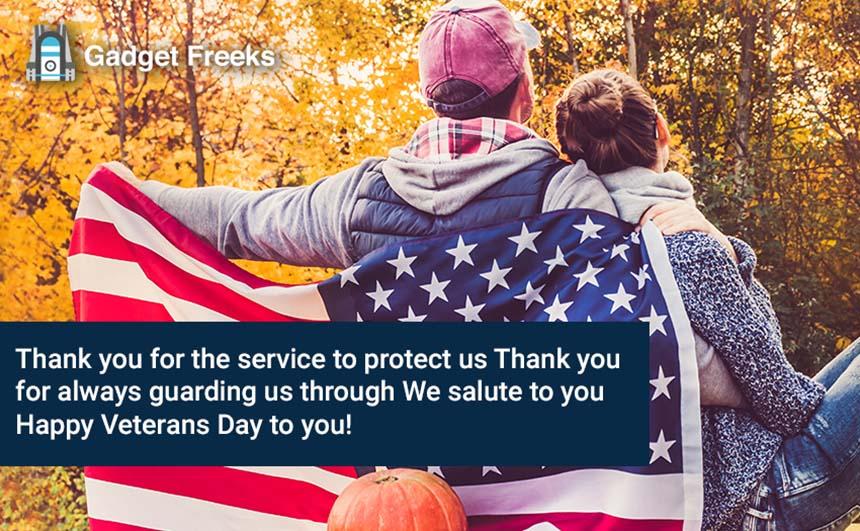Veterans Day SMS