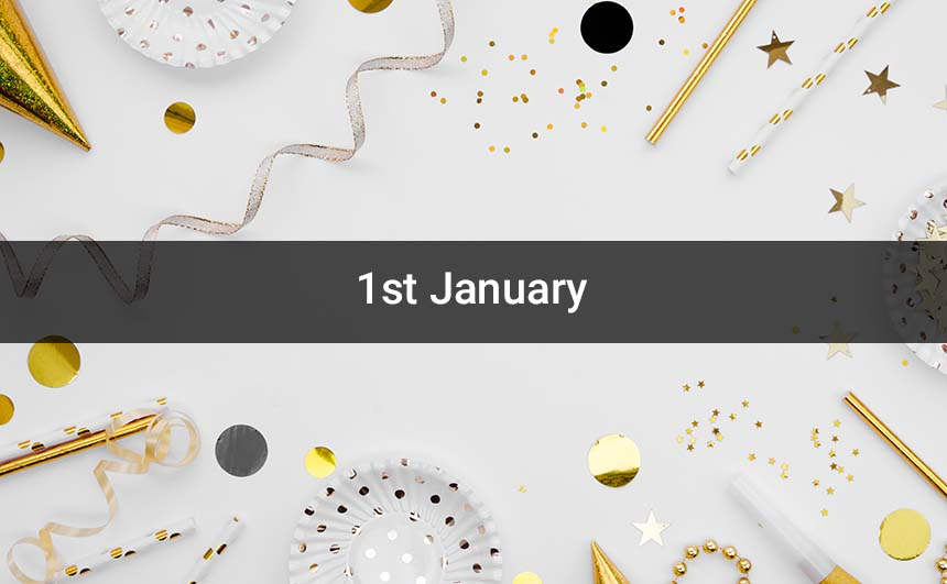 1st January Images for Whatsapp