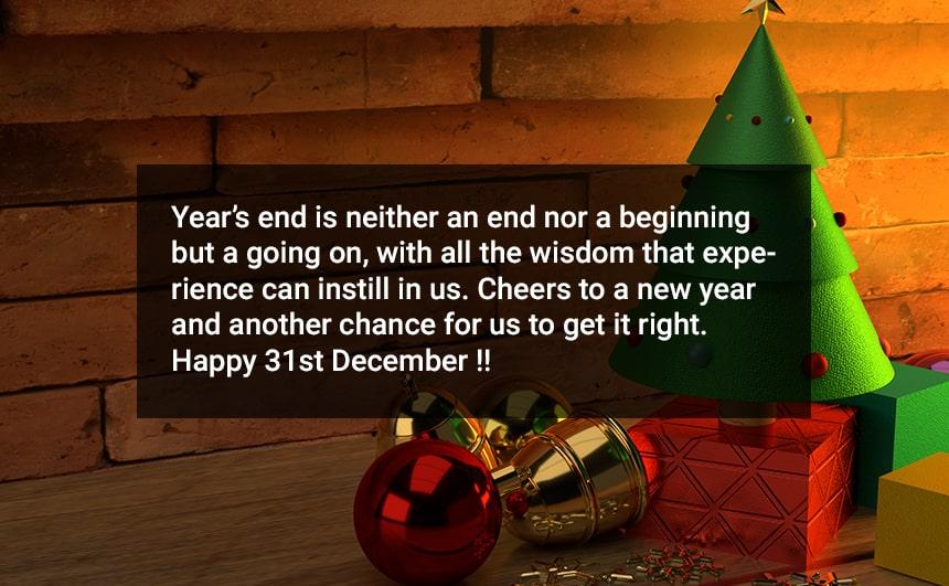 31st December Messages