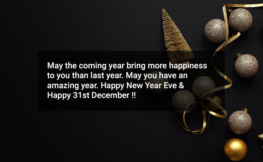 Happy 31st December Wishes Messages Quotes Whatsapp