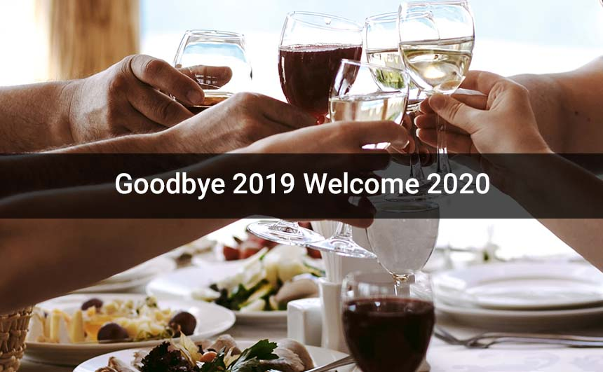 Bye Bye 2019 Hello 2020 Images