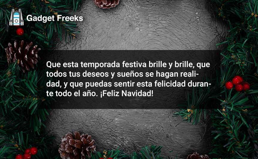 Feliz Navidad Desea