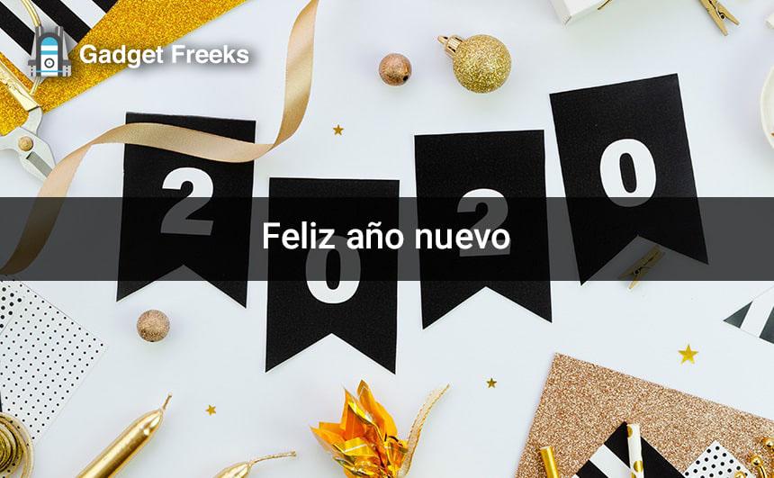 Feliz año Nuevo 2020 Imágenes