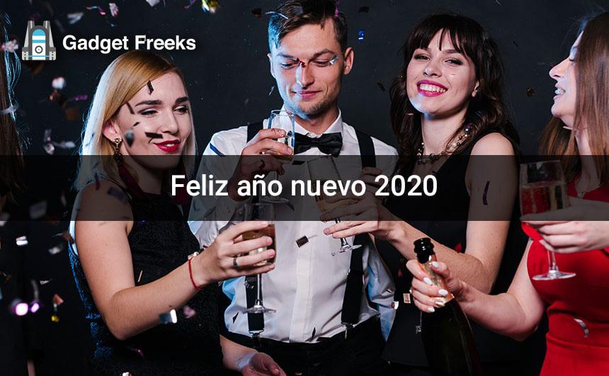 Feliz año nuevo 2020 Fondos