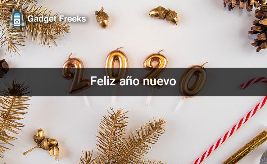 Feliz año nuevo Fondos