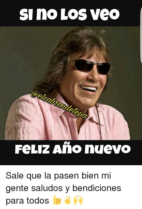 Feliz año nuevo meme