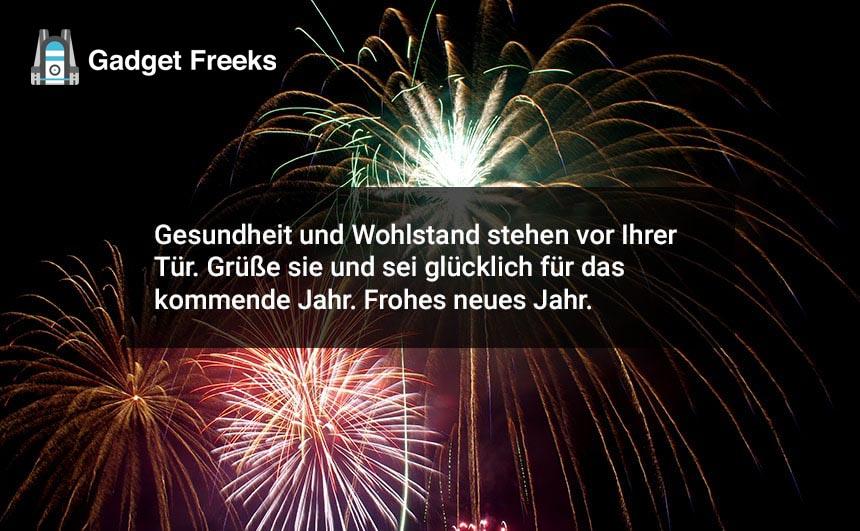 Feohes Neues Jahr Wünsche