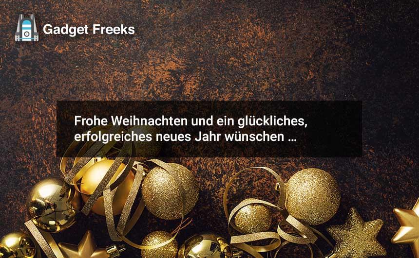 Frohe Weihnachten Grüße