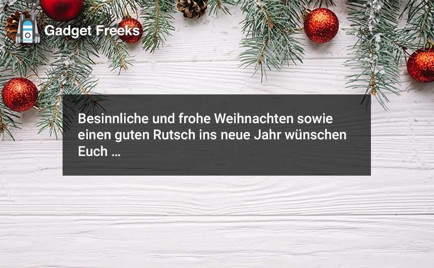 Frohe Weihnachten Wünscht 2019